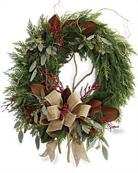 Quick View Rustic Holiday Wreath