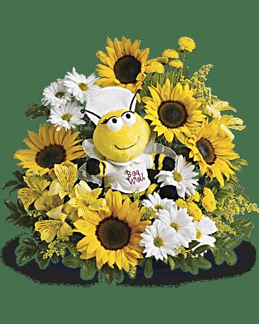Telefloras Bee Well Bouquet Flower Arrangement