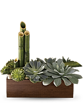 Teleflora's Peaceful Zen Garden Flower Arrangement