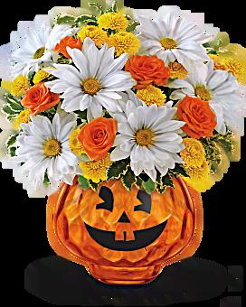 Halloween heureux par Teleflora Bouquet