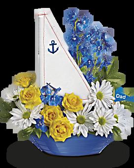 Teleflora's Captain Carefree Bouquet Flower Arrangement