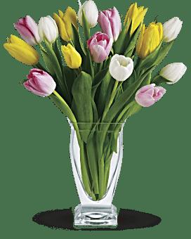 Bouquet Trésor de tulipes de Teleflora