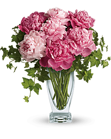 telefloras perfect peonies bouquet - How To Cut Peonies