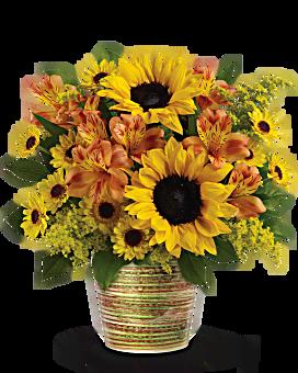 Teleflora's Grand Sunshine Bouquet Bouquet