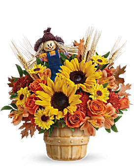 Teleflora's Smiling Scarecrow Bouquet Bouquet