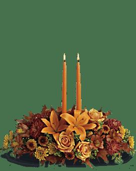 Family Gathering Centerpiece Flower Arrangement