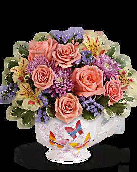 Bouquet Envol de papillons de Teleflora