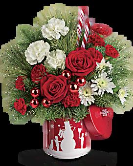 Teleflora's Snow Day Bouquet Bouquet