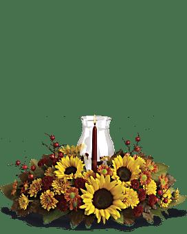Sunflower Centerpiece Flower Arrangement
