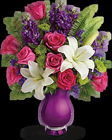 teleflora bouquets sparkle and shine