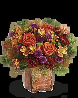 Teleflora's Golden Amber Bouquet Bouquet