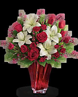 La passion bouquet de l'amour par Teleflora bouquet