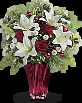 Teleflora's Wondrous Winter Bouquet Bouquet
