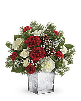 Teleflora's Woodland Winter Bouquet Bouquet