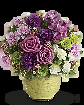 Teleflora's Spring Speckle Bouquet Bouquet