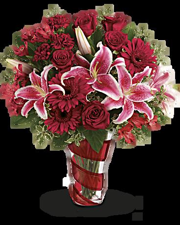 Teleflora's Swirling Desire Bouquet Bouquet