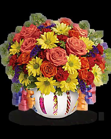 Souvent Bouquet Super fleurs d'anniversaire de naissance de Teleflora  CS62