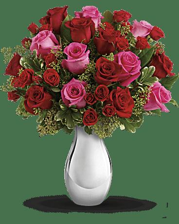 telefloras true romance bouquet with red roses bouquet