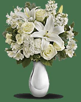 Teleflora's Shimmering White Bouquet Bouquet
