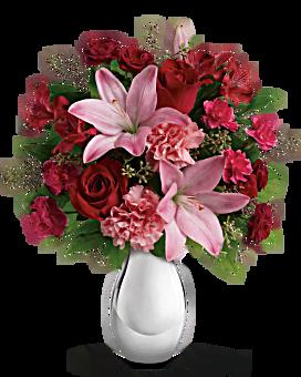 Teleflora's Moonlight Kiss Bouquet Bouquet
