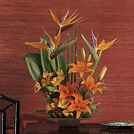 Telefloras Exotic Grace Flower Arrangement