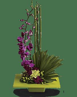 Zen Artistry Flower Arrangement