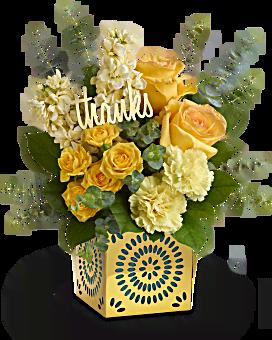 Teleflora's Shimmer Of Thanks Bouquet Bouquet