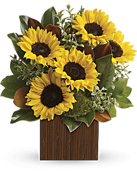 You're Golden Bouquet by Teleflora Flower Arrangement