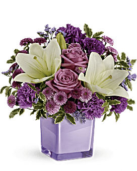 Teleflora's Pleasing Purple Bouquet Bouquet