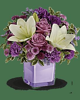Teleflora's Pleasing Purple Bouquet Bouquet