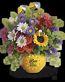 Teleflora's Garden Of Wellness Bouquet Bouquet