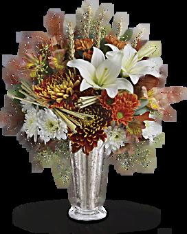 Teleflora's Harvest Splendor Bouquet Bouquet