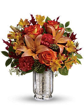 Teleflora's Fall Blush Bouquet Bouquet